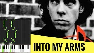 Скачать PIANO TUTORIAL INTO MY ARMS NICK CAVE