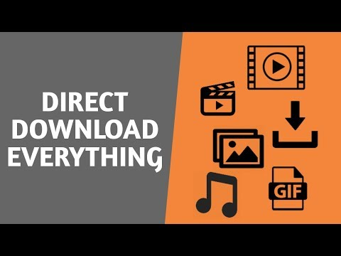 Direct Download Everything (Games, Movies, Music etc)