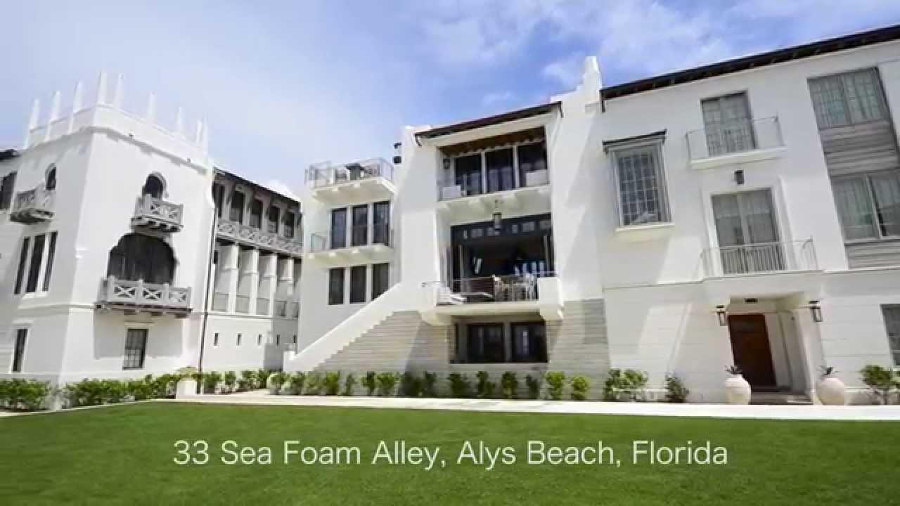 33 Sea Foam Alley Alys Beach Fl Youtube