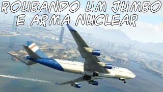 GTA 5: Roubando Avião Jumbo e Arma Nuclear PT-BR #22