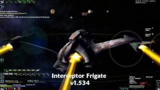 DarkSpace Interceptor Frigate.wmv