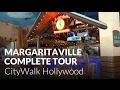 Jimmy Buffett's Margaritaville at CityWalk Hollywood - Complete Tour - Universal Studios Hollywood