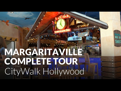 Jimmy Buffett S Margaritaville At Citywalk Hollywood Complete Tour Universal Studios