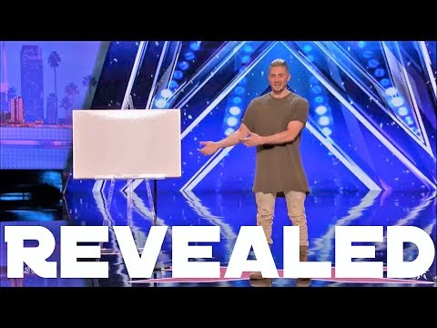 REVEALED - Tom London's Calculator Trick on AGT!