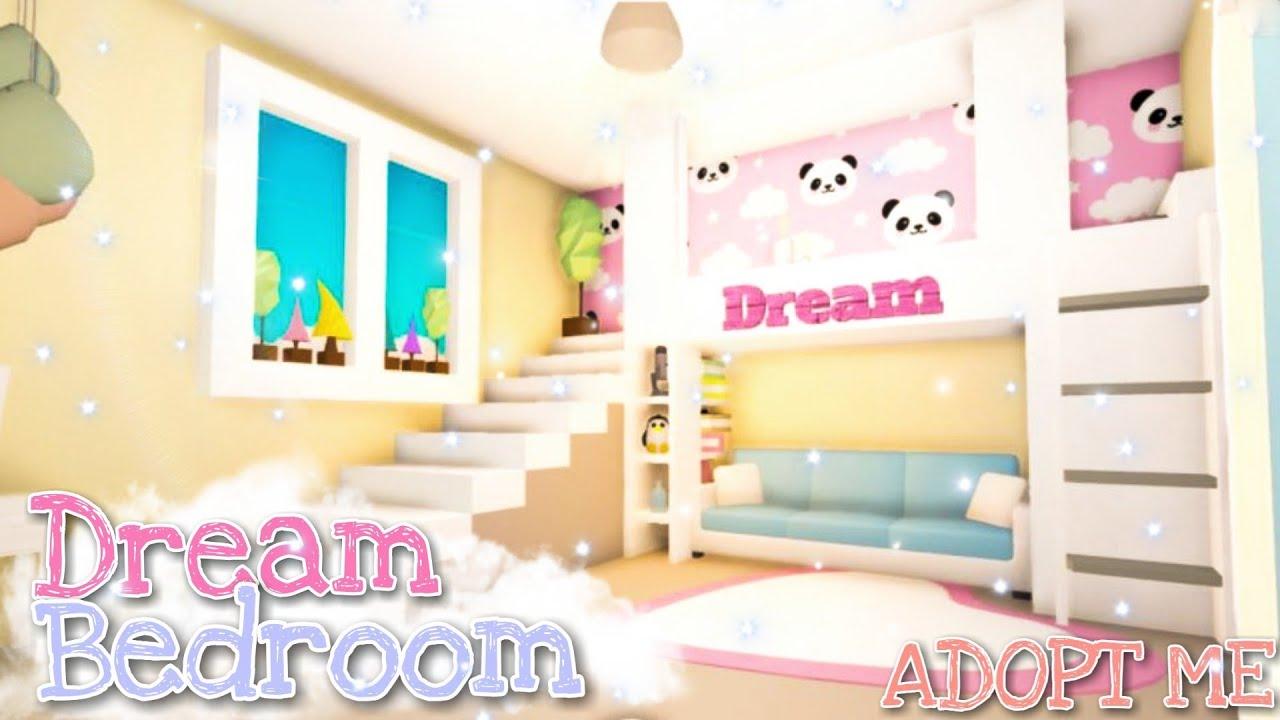 dream bedroom adopt me speed build