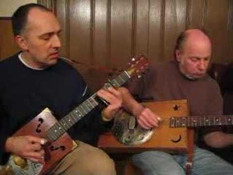 Cigar Box Guitar Smokestack Lightnin Howlin Wolf Duet