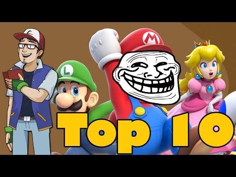 Top 10 Nintendo Troll Moments