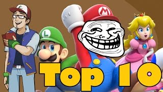 Top 10 Nintendo Troll Moments