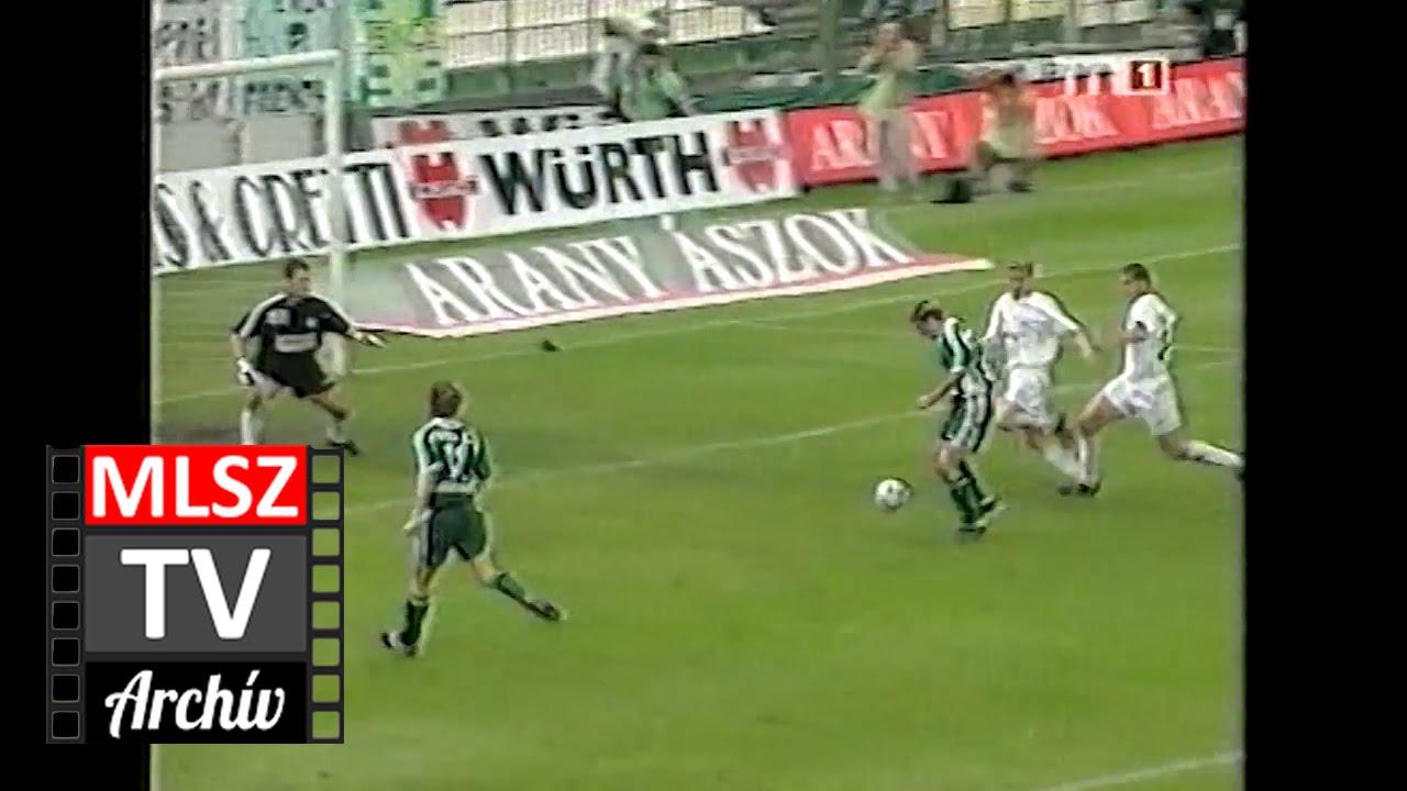 Ferencváros-Újpest | 2-2 | 2001. 05. 12 | MLSZ TV Archív