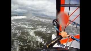 Windsurfing vs Kite - Looping, riding, flying