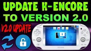 PS Vita Update H-encore To Version 2.0!