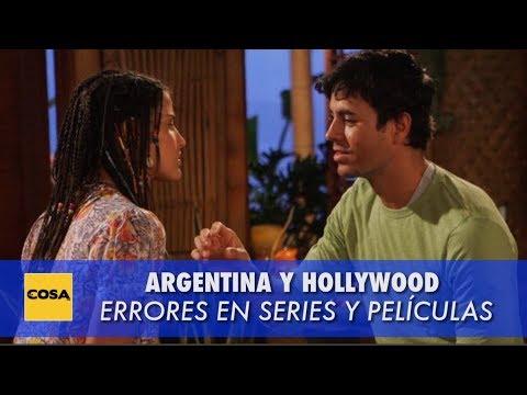 Argentina y Hollywood: Errores en series y películas