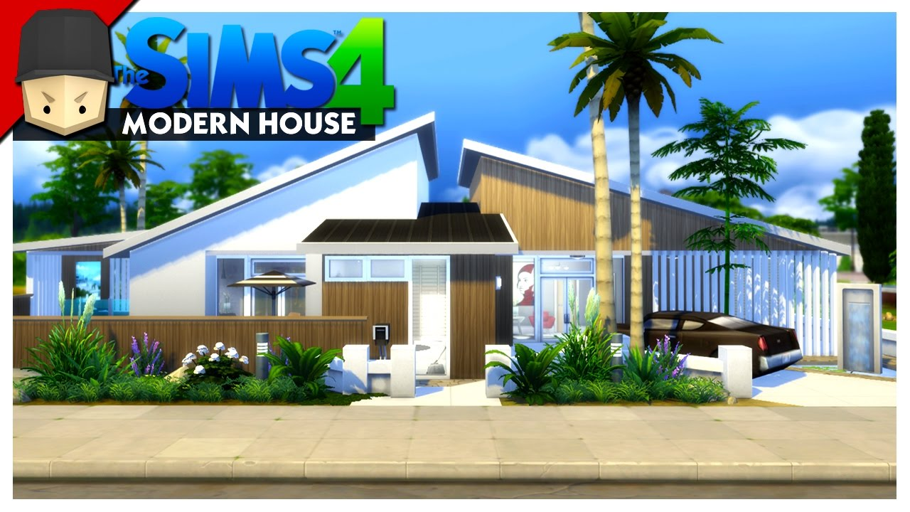 Modern House The Sims 4 House Building YouTube