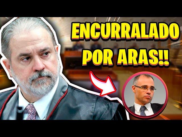 ARAS ENCURRALA MINISTRO DE BOLSONARO
