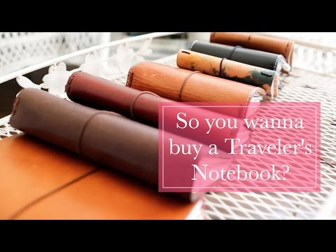 So you wanna buy a Traveler's Notebook???