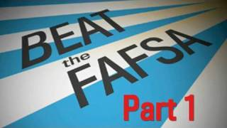 Beat the FAFSA: Cast a Wide Net