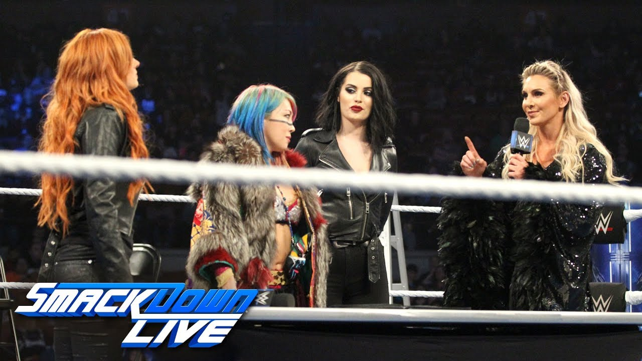 Becky Lynch, Charlotte Flair & Asuka make their TLC Match official: SmackDown LIVE, Dec. 4, 2018