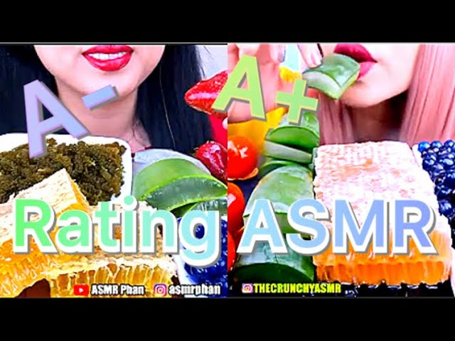 Rating Eating Most Popular Food For Asmr Pink asmr copying sas asmr for 9 minutes straight part 2. pettifotter