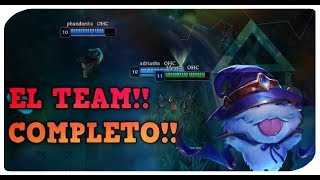 EL TEAM COMPLETO !!  | EL TEAM TROLL! | LEAGUE OF LEGENDS