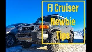 6 Basic Tips for New FJ Cruiser Owners
