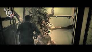 ラウラ(女怪物)と一緒にエレベーターに乗ったら・・【サイコブレイク】