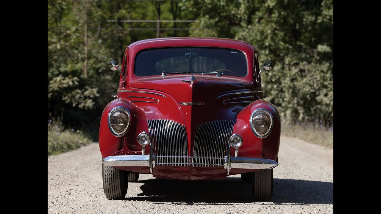 1939 Lincoln Zephyr Coupe Youtube