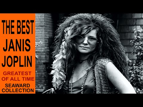 JANIS JOPLIN, HER TOP 10.  ROCK HISTORY. WITH PLAYLIST. Revised Edition.  Seaward Collection
