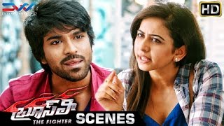Ram Charan and Rakul Preet about Police | Bruce Lee The Fighter Movie Scenes | Kriti Kharbanda | Ali