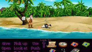 The Secret of Monkey Island - Speech Test (Monkey and Herman Toothrot)