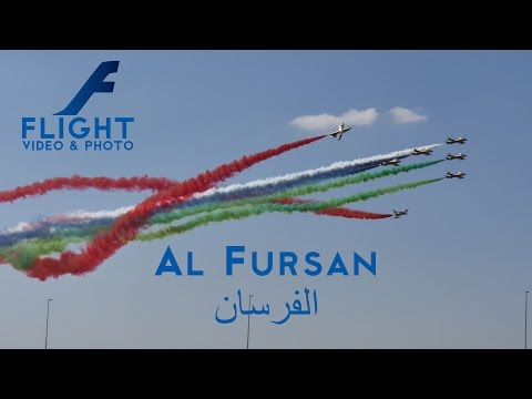 Al Fursan UAE Aerobatic Team at Marrakech Airshow 4k Video