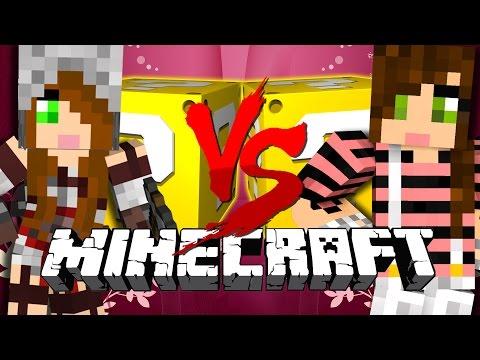 Minecraft | GERTRUDE VS BEATRICE LUCKY BLOCK CHALLENGE | HOLY HAND GRENADES