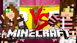 Minecraft | GERTRUDE VS BEATRICE LUCKY BLOCK CHALLENGE | HOLY HAND GRENADES