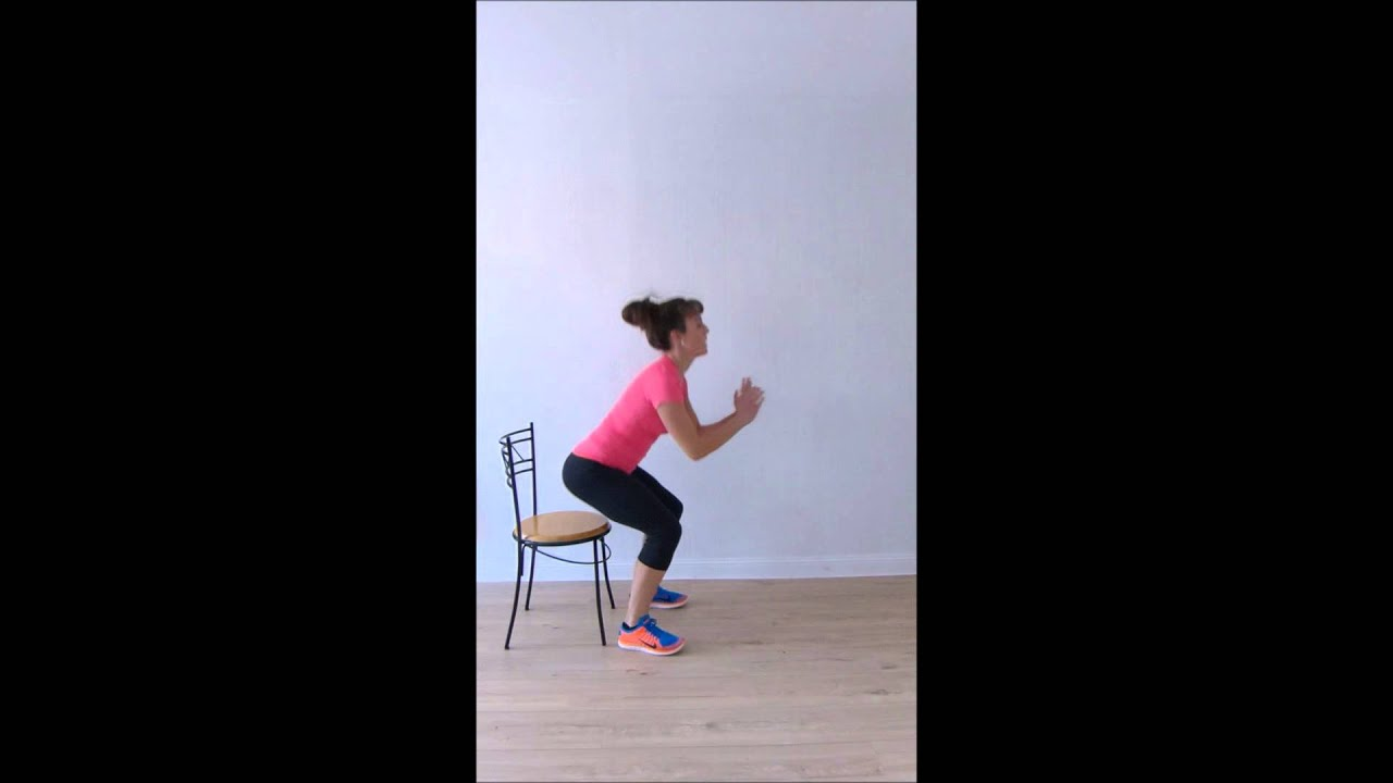 5 exercices de musculation avec une chaise youtube for Chaise youtubeur