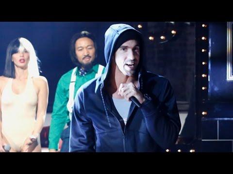Michael Phelps Channels Eminem's 'Lose Yourself' on 'Lip Sync Battle'