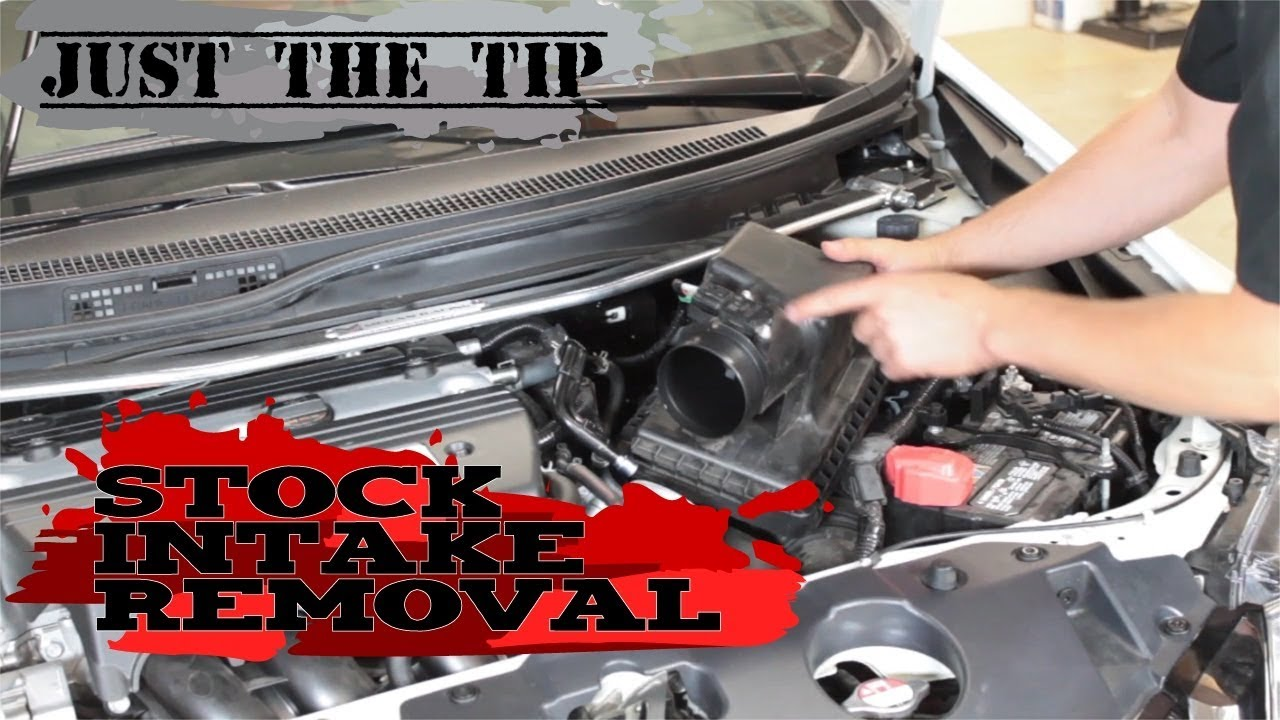 hight resolution of just the tip removing factory intake honda civic 2012 2013 2014 2015