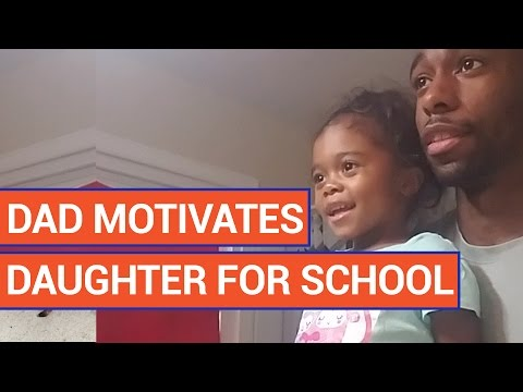 Amazing Dad Motivates Daughter For School Video 2016 | Daily Heart Beat