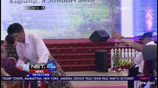 Lucunya Seorang Pria Hampir Terjatuh Saat Naik Sepeda Dari Presiden - NET 24