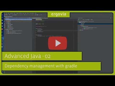 ergovia@FH Kiel – Advanced Java / Dependency management with gradle