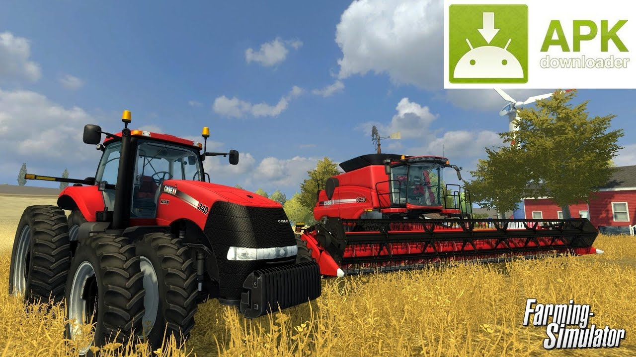 Farming simulator 14 android apk free download 100 working youtube