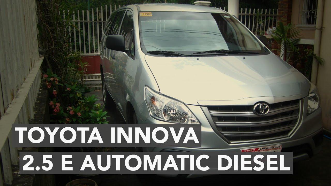 2015 toyota innova 2.5 e automatic - youtube
