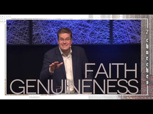 Genuineness of faith | Pastor Peter De Fin