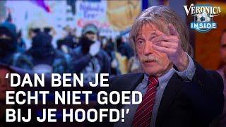 Johan Derksen over bedreigers Thierry Baudet: 'Dit zijn gekken'
