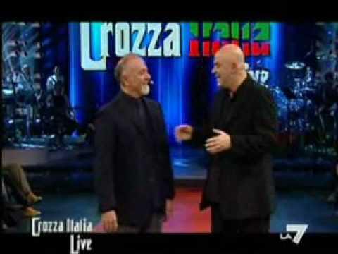 Giorgio Faletti a Crozza Italia - 1°parte
