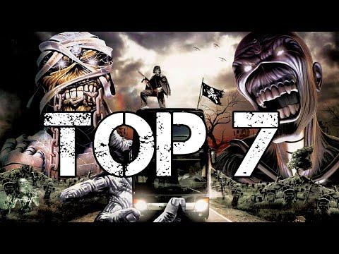 TOP 7 Iron Maiden (canciones - songs)