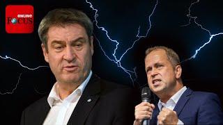 """""""Wenn er auch nur einen Funken Anstand hätte"""": Laschet-Minister keilt gegen Söder"""