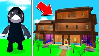 ROBLOX PIGGY CROVE'S CABIN MAP! (Piggy Build Mode)