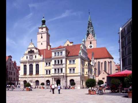 Cities of Germany, Ingolstadt , buildings,park ,leisur­e, tourism, history, women
