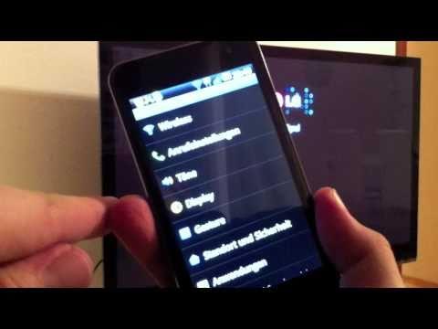 LG P990 OPTIMUS Speed im Test - der HDMI-Ausgang