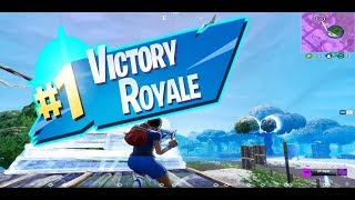 Fortnite Battle Royale | Victory Royale Using The Soccer Skin/Mako Glider