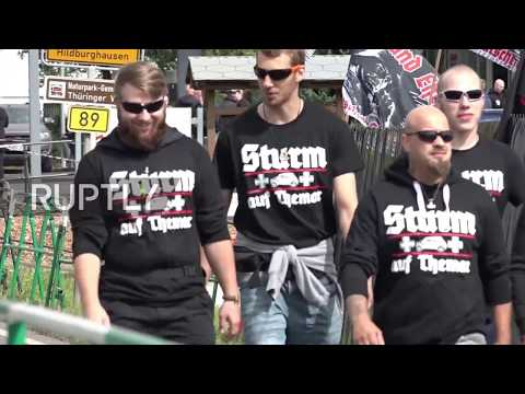 Germany: Far-right festival met with counter protests in Themar
